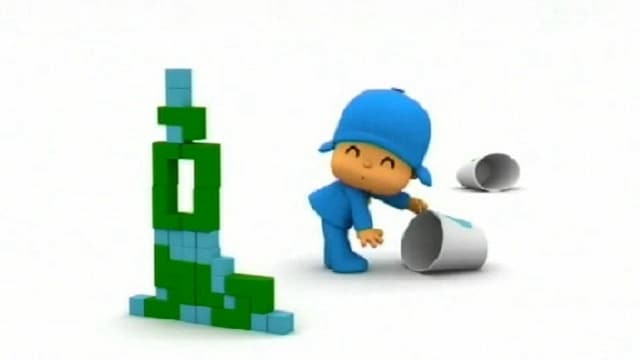 Rai Yoyo Let's Go Pocoyo - S1E17 - The Amazing Tower