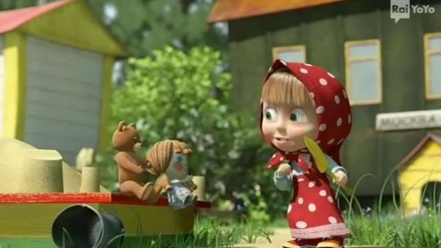 Rai Yoyo I racconti di Masha - S1E2 - Le oche magiche