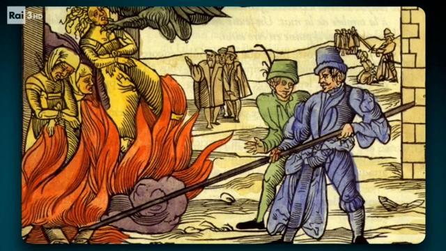 Risultati immagini per la santa inquisizione rai