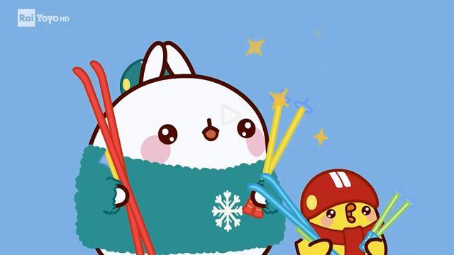 Rai Yoyo Molang - S2E37 - Scuola di sci