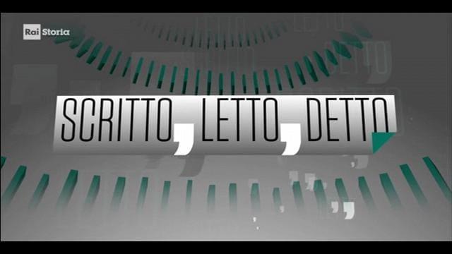 Rai Storia Scritto, letto, detto: Vito Mancuso