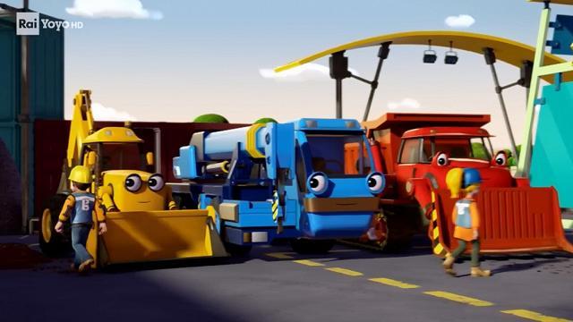 Treno cartoni animati