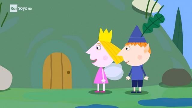 Rai Yoyo Il piccolo regno di Ben e Holly - S1E21 - La visita di Gastone