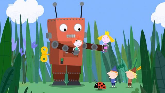 Rai Yoyo Il piccolo regno di Ben e Holly - S1E36 - Il robot giocattolo
