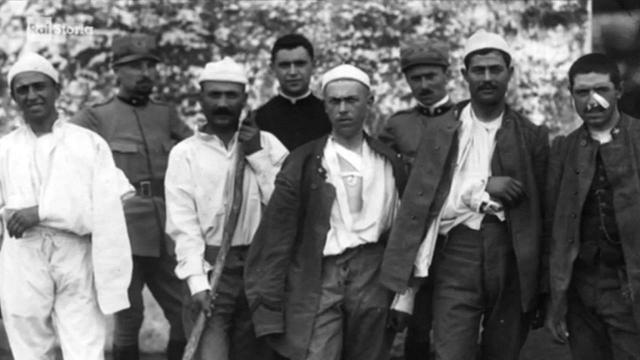 Rai Storia Pinocchi di trincea - Il corpo ferito nella grande guerra