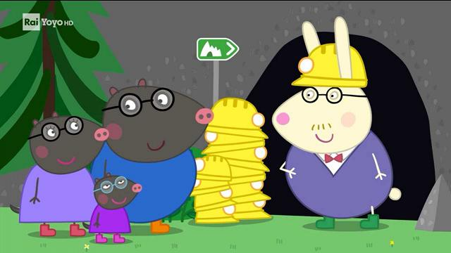 Rai Yoyo Peppa Pig  - S7E45 - Visita alle grotte