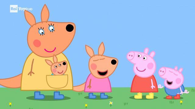 Rai Yoyo Peppa Pig - S5E14 - Kilie il canguro