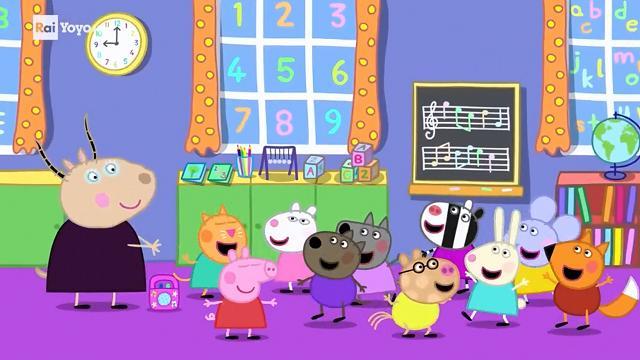 Rai Yoyo Peppa Pig - S7E8- Evviva la musica!