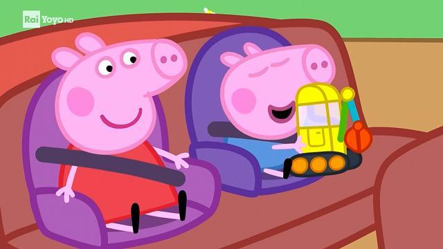 Rai Yoyo Peppa Pig - S7E21 - Il mondo delle scavatrici