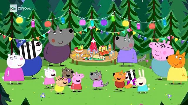 Rai Yoyo Peppa Pig - S7E23 - Il compleanno di Lady Lupa