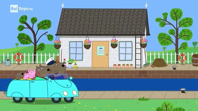 Rai Yoyo Peppa Pig - S7E25 - Gita sul canale