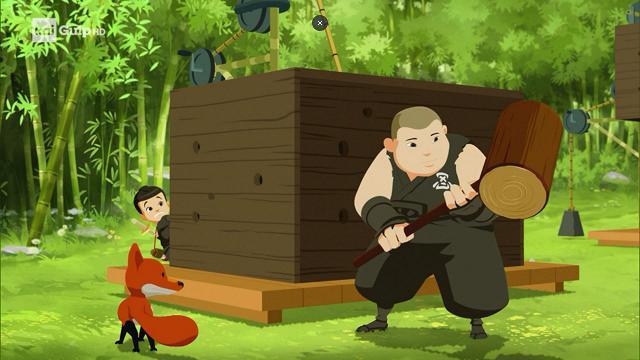 Rai Gulp Mini Ninjas - S1E26 - Orsi e miele