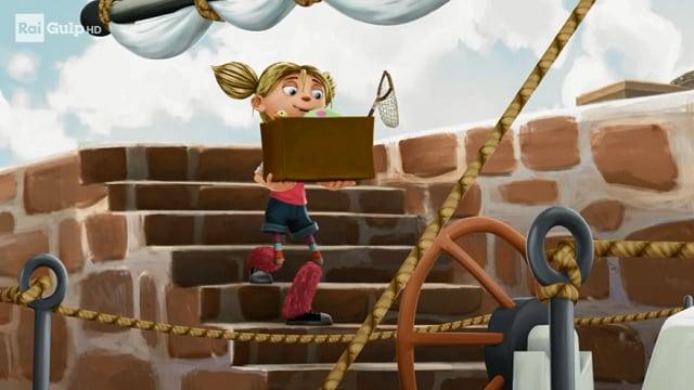 Rai Gulp I pirati della porta accanto - S1E14 - Il pirata malato