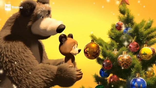 Rai Yoyo Masha e Orso - S1E21 - Il magico Natale di Masha