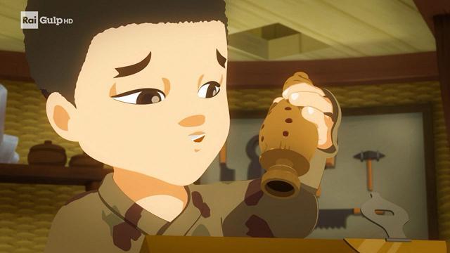 Rai Gulp Mini Ninjas - S2E29 - Il figlio degli inventori