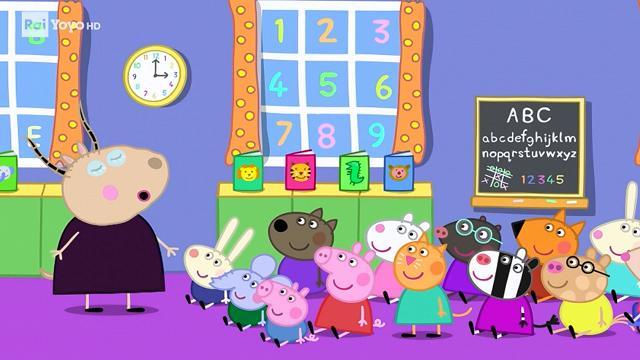 Rai Yoyo Peppa Pig - S8E13 - Giornata Mondiale del Libro