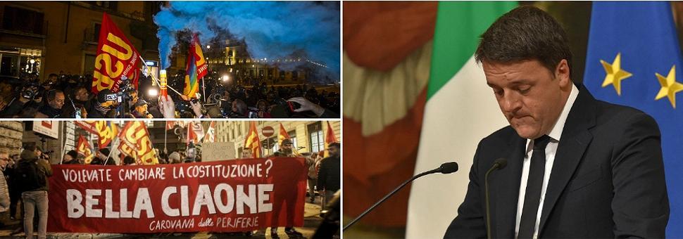Renzi: il No ha vinto, mi dimetto l'esperienza del mio governo finisce qui