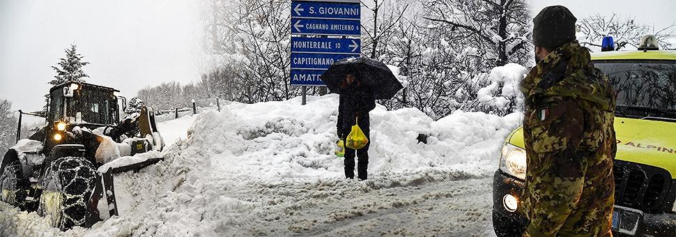 Forti scosse in Italia Centrale Un morto e un disperso