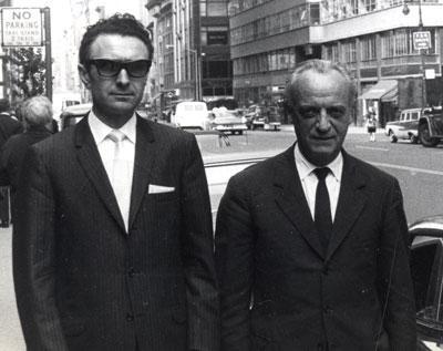 Ruggero Orlando e Lino Mannocchia