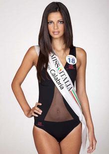 Stefania Bivone, Miss Calabria, tra le 10 più belle d'Italia. Foto dalla rete.