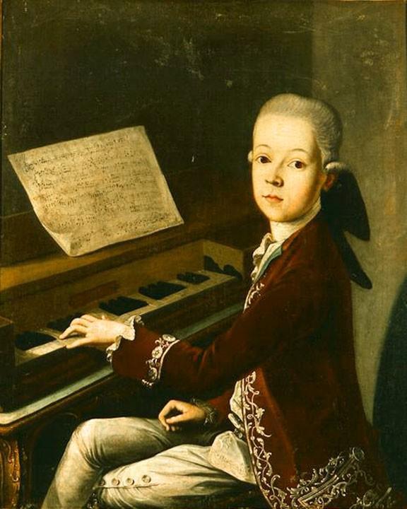 Mozart Lettere: Ritratto Del Giovane Mozart