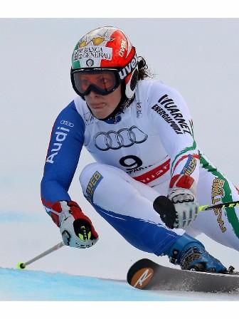 Sci: Brignone out in 1/a manche slalom