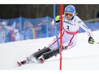 Mondiali Sci, Shild oro in slalom donne