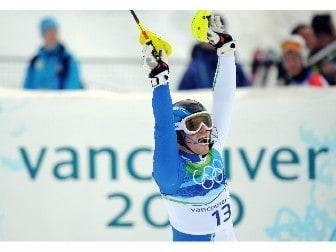 sport focus imageinf27ykcX 20100227 Slalom: Razzoli d'oro. L'Italia torna a vincere nello sci alpino 18 anni dopo Tomba. Video.