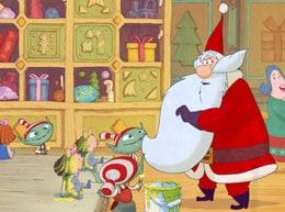 L Apprendista Di Babbo Natale.Cartoon Flakes 24 Dicembre