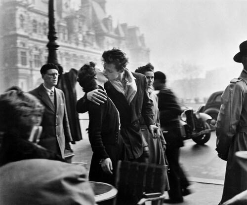 Robert Dosieau, il bacio davanti all'hotel De Ville