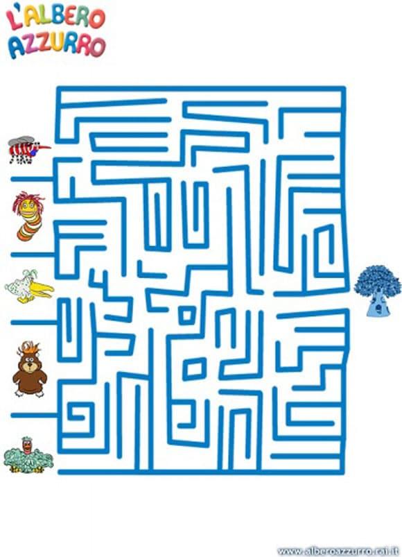 Il labirinto dell'Albero Azzurro