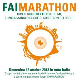 sul sito www.fondoambiente.it e sulla pagina Facebook dedicata alla  FAIMARATHON - presso le Delegazioni FAI in tutta ... e32710602400