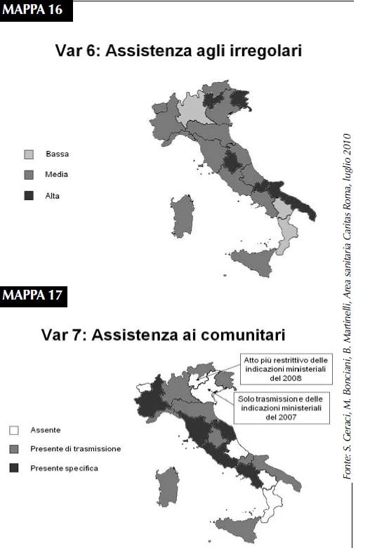 Gli stranieri e la sanita' in Italia