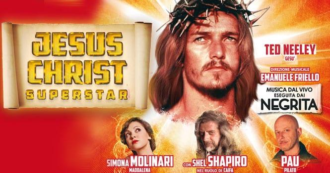 A vent'anni dalla prima, torna in scena il leggendario Jesus Christ Superstar. Il teatro Sistina di Roma ospita, dal 18 aprile (data scelta non a caso, ...
