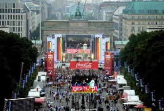 Tifosi Germania in trepida attesa