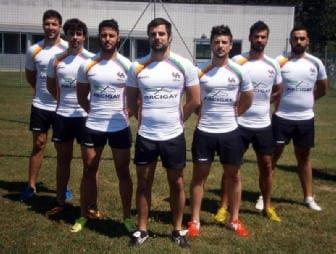 Rugby: squadra con maglia Arcigay