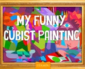 My Funny Cubist Painting