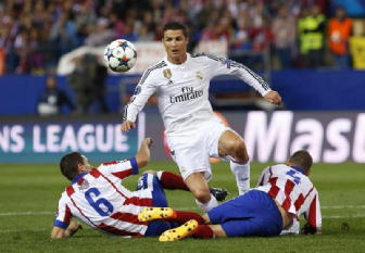 Champions, Atletico-Real Madrid 0-0