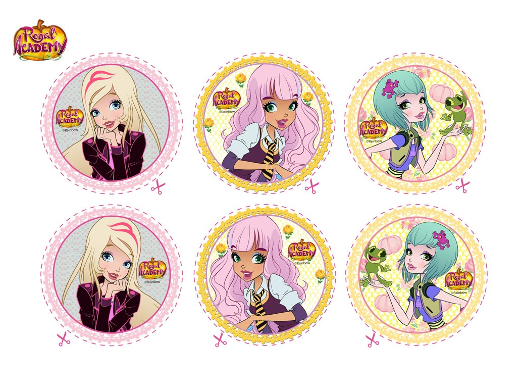 Rai yoyo regal academy party decorations for Disegni da colorare regal academy