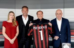 Berlusconi n.1 onorario con Milan cinese