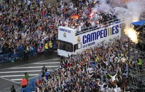 Champions: Real a Madrid, subito festa