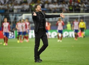 Champions: Simeone, ora mi lecco ferite