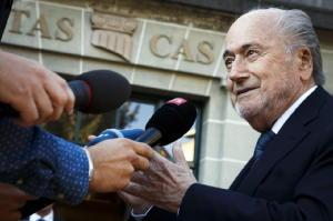 Blatter 'accetterò il verdetto del Tas'