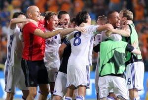 Champions: ritorno playoff,Ajax va fuori