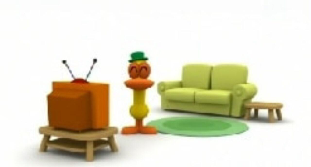 Rai Yoyo Let's Go Pocoyo - S1E42 - Pato's Living Room