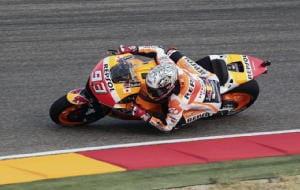 MotoGp: Aragon, terze libere a Marquez