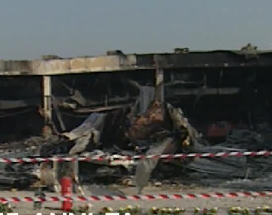 Aereo Privato Torino : Tg anni fa il disastro di linate