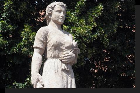 Statua di Katharina Kepler a Leonberg, Germania - Credit: Wikipedia