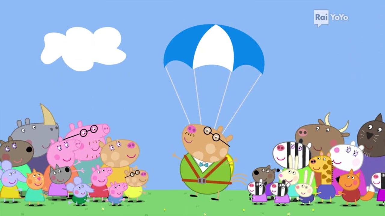 Rai Yoyo Peppa Pig - S7E2 - Lancio col paracadute