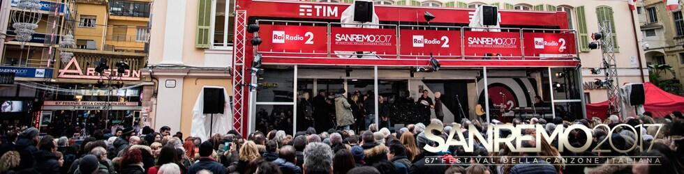 Radio2 a Sanremo